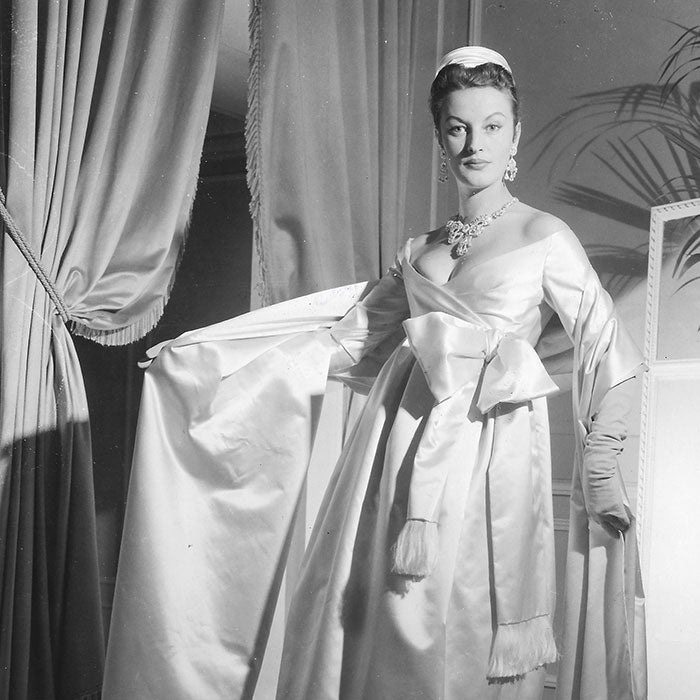 Christian Dior - Robe du soir par Yves Saint Laurent (1958)