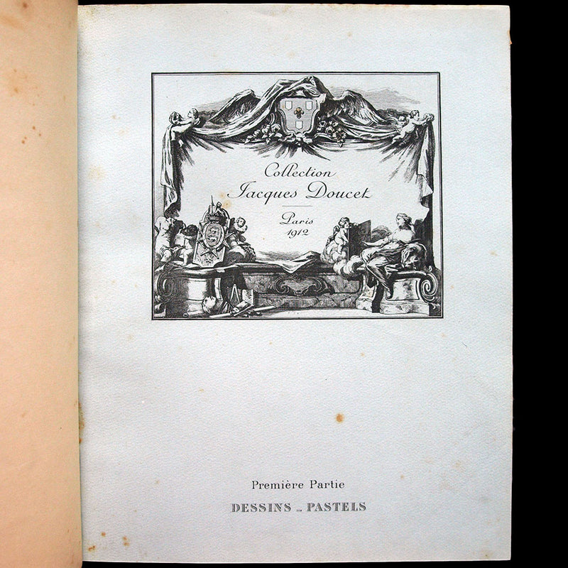 Catalogue de la vente de la collection de Jacques Doucet (1912)