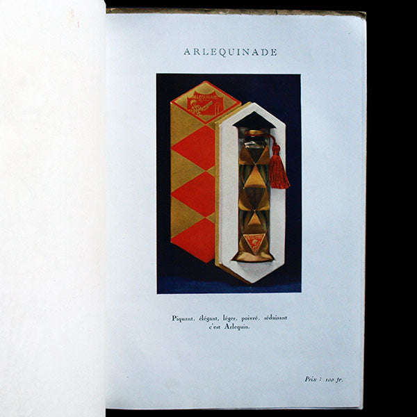 Paul Poiret - Les Parfums de Rosine, catalogue publicitaire (1923)