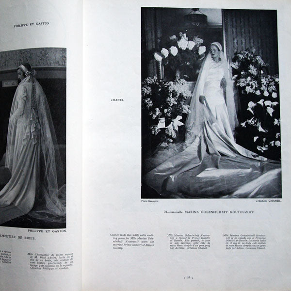 L'Officiel de la mode et de la couture de Paris - 1932