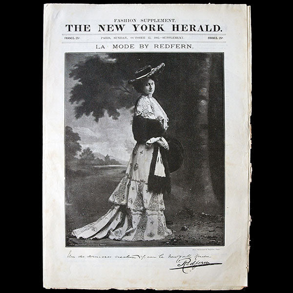 The New York Herald Fashion Supplement, October 12th 1902