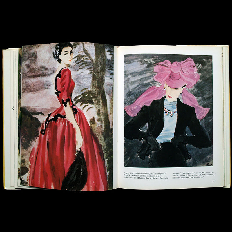 Fashion Drawings in Vogue, Eric, Carl Erickson (1989)