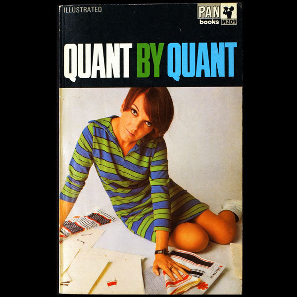 Quant by Quant (Mary Quant), couverture de David Bailey (1967)