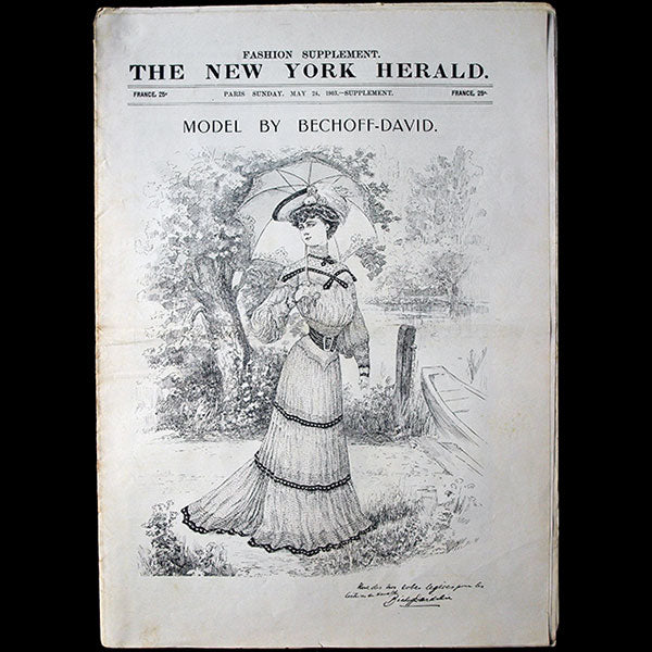 The New York Herald Fashion Supplement, May 24th, 1903
