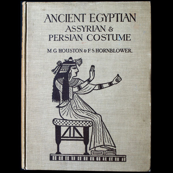Ancient Egyptian and Assyrian & Persian Costumes, exemplaire d'Erté