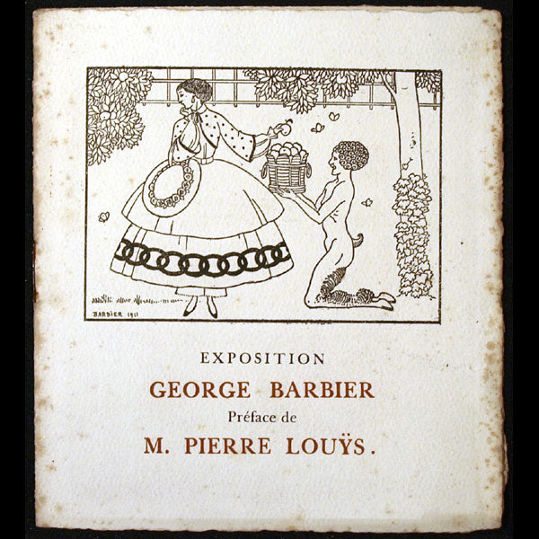 Barbier - Exposition George Barbier (1911)