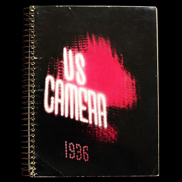 US Camera 1936, couverture d'Alexei Brodovitch