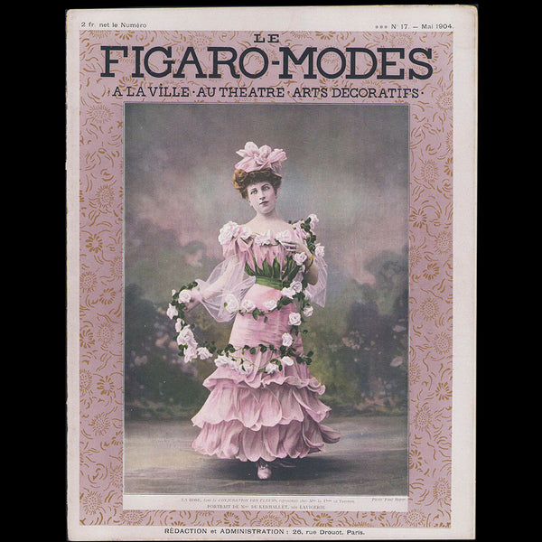 Le Figaro-Modes, mai 1904, couverture de Paul Boyer