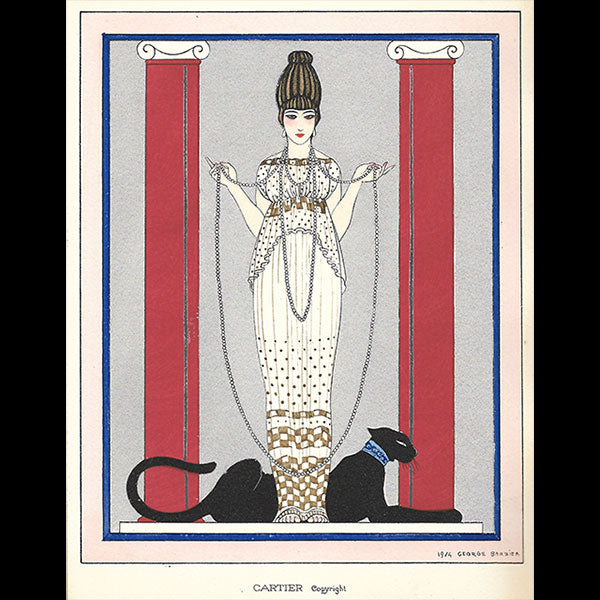 Art Deco Costumes by George Barbier (Falbalas et Fanfreluches)