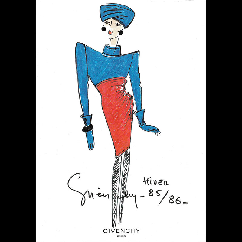 Givenchy - Collection Haute Couture Automne-Hiver 1985-1986