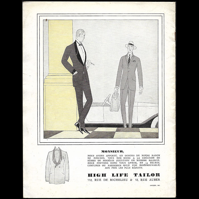 High Life Tailor - La Folie à la Mode (1920)