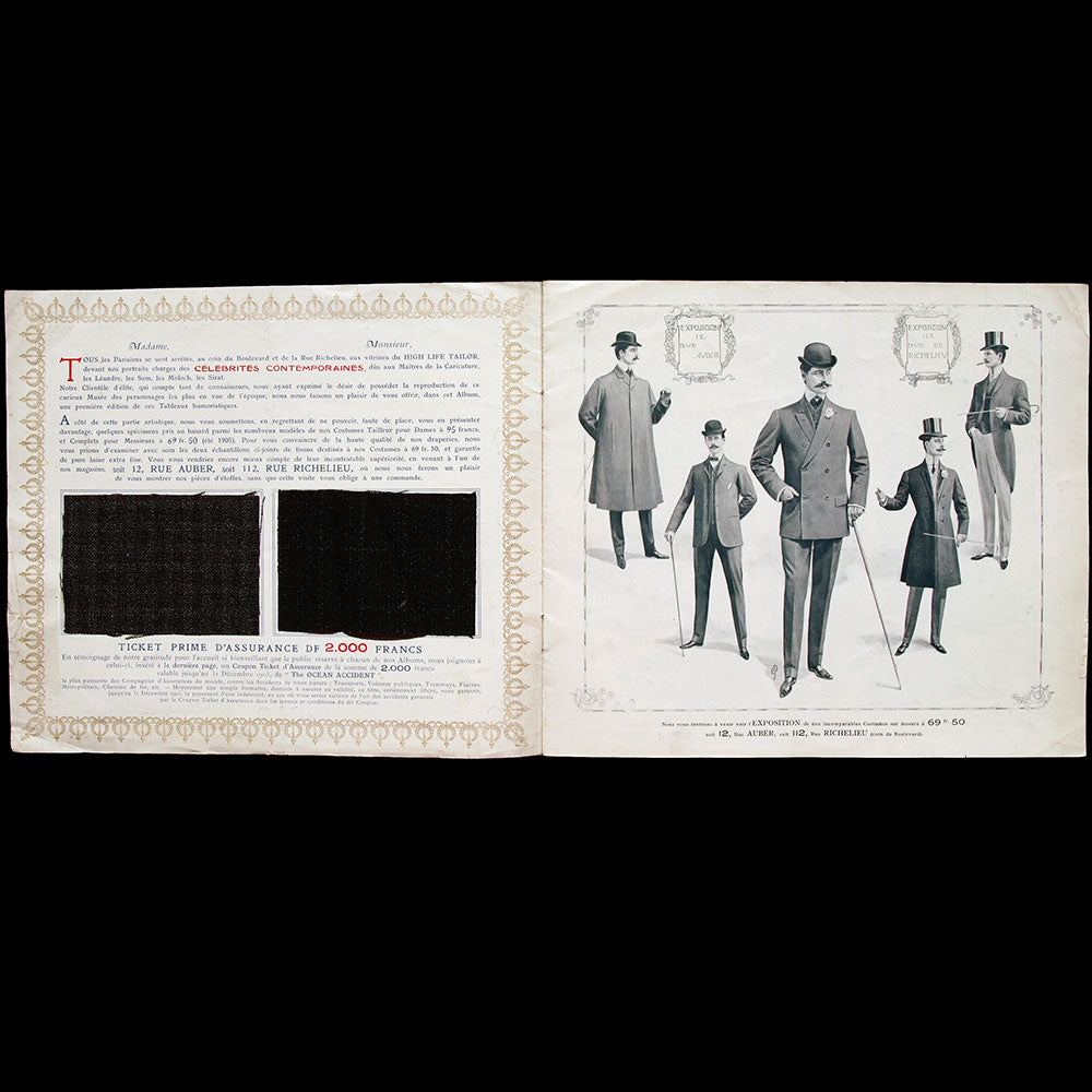 High Life Tailor - Célébrités Contemporaines (1905)
