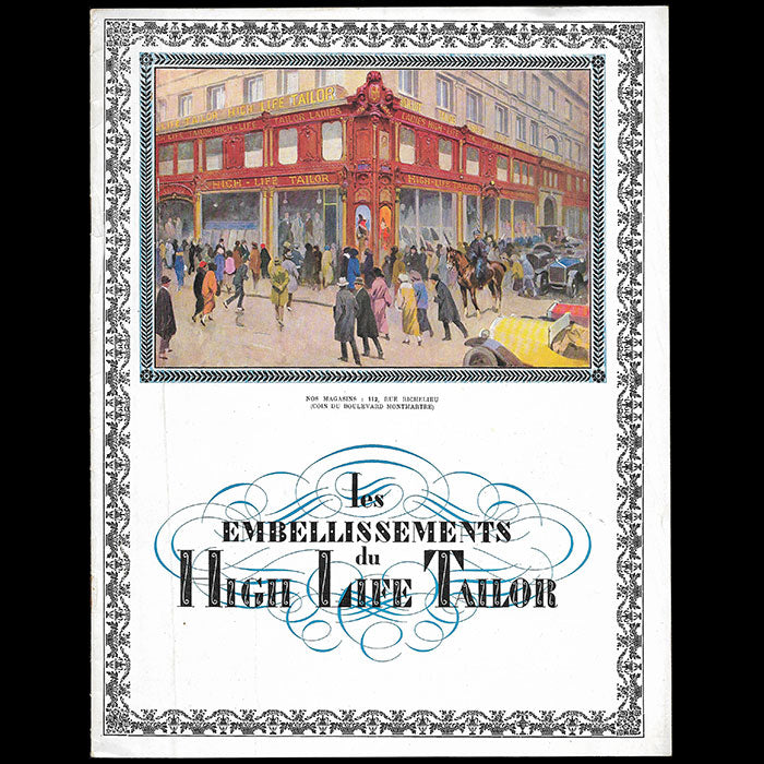High Life Tailor - Les Embellissements du High Life Tailor (1923)