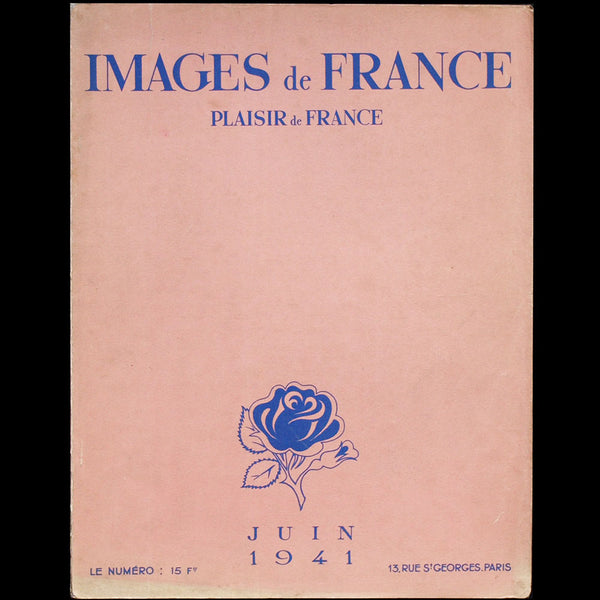 Images de France - Plaisir de France (juin 1941)