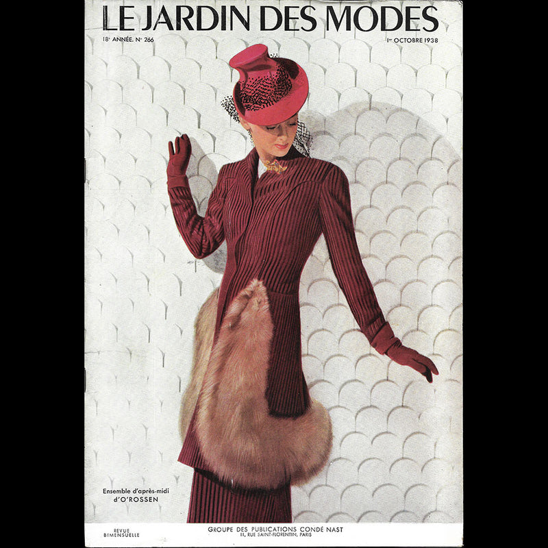 Vogue US (1er octobre 1938), couverture de Bénito