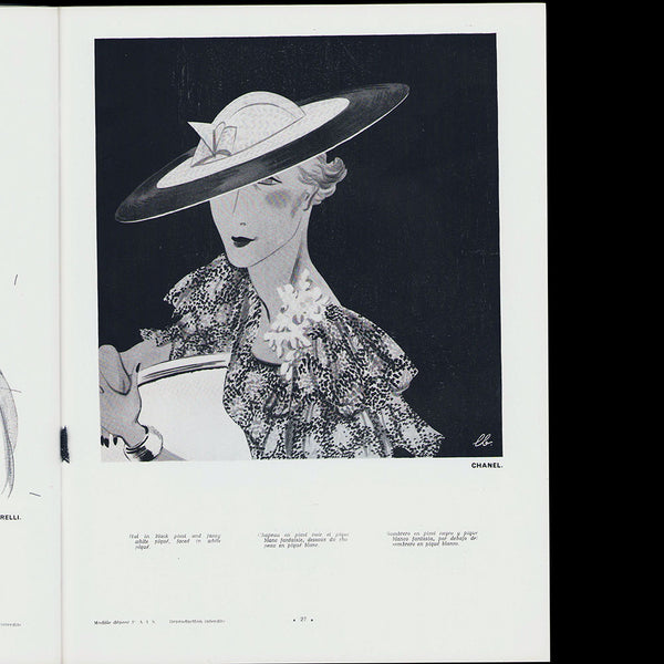 L'Officiel de la mode et de la couture de Paris - avril 1935