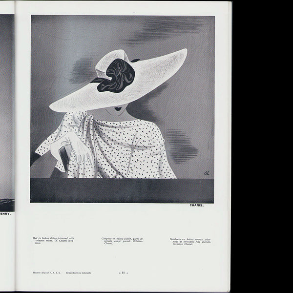 L'Officiel de la mode et de la couture de Paris - juin 1935
