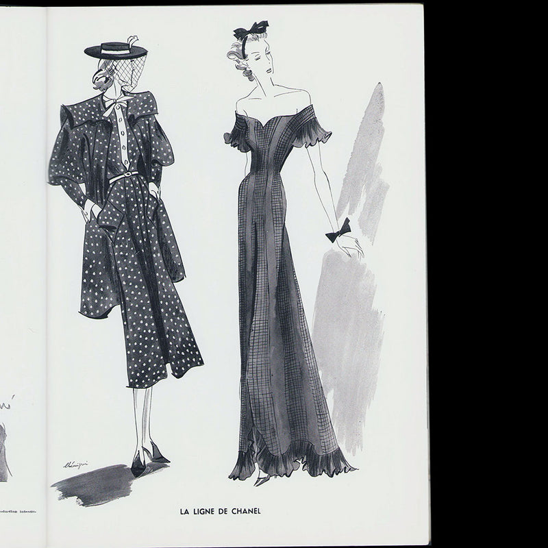 L'Officiel de la mode et de la couture de Paris - mars 1938