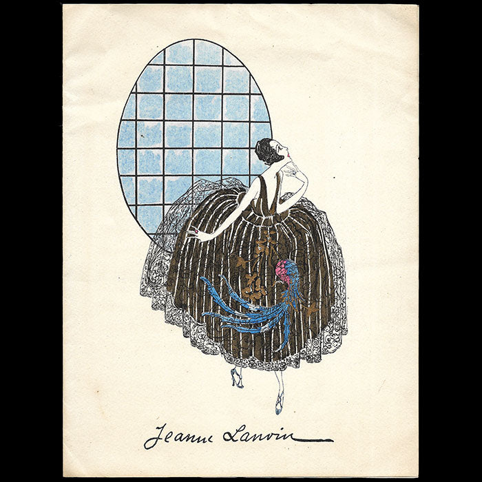 Jeanne Lanvin - Invitation (1919)