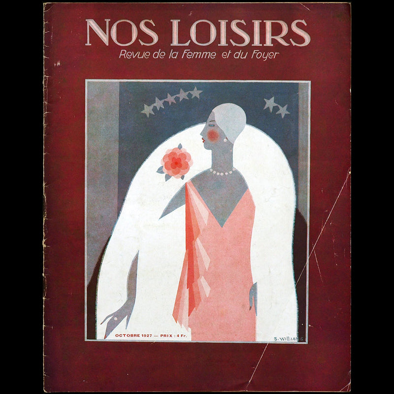 Nos Loisirs, (octobre 1927), couverture de Williams