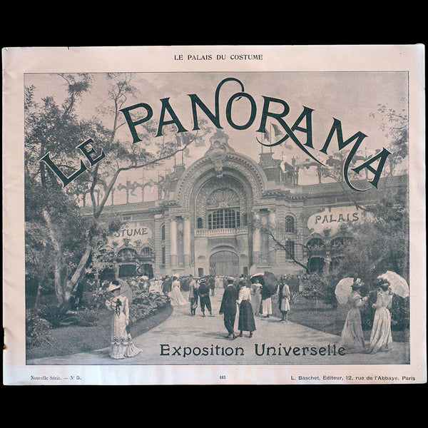 Exposition universelle de Paris - Le Panorama, Le Palais du Costume (1900)