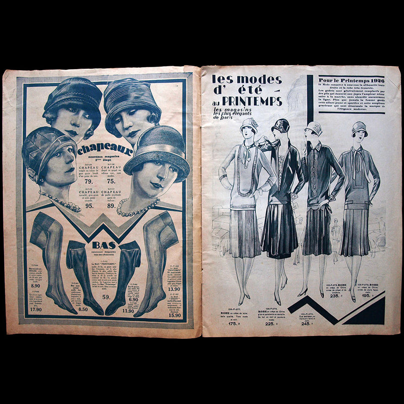Au Printemps - Catalogue de l'été 1926
