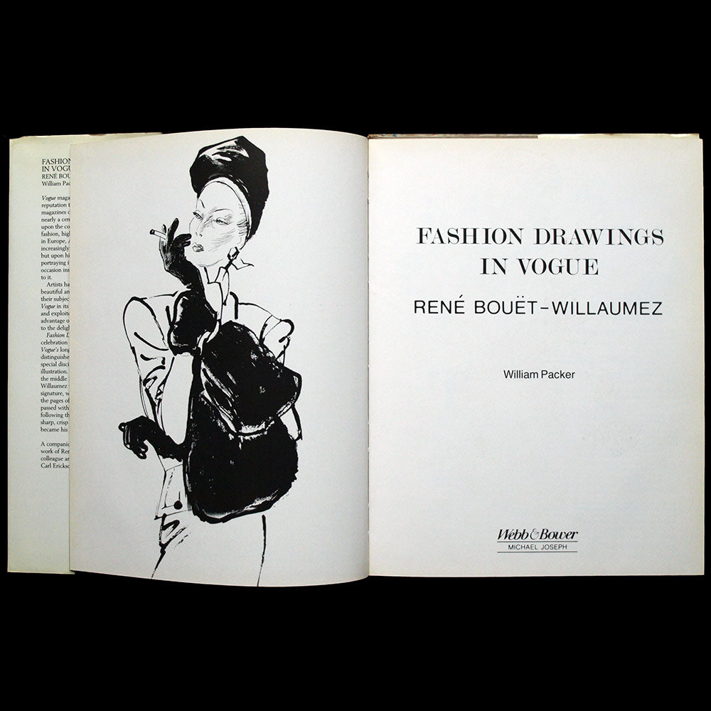 Fashion Drawings in Vogue : RBW, René Bouet Willaumez (1989)