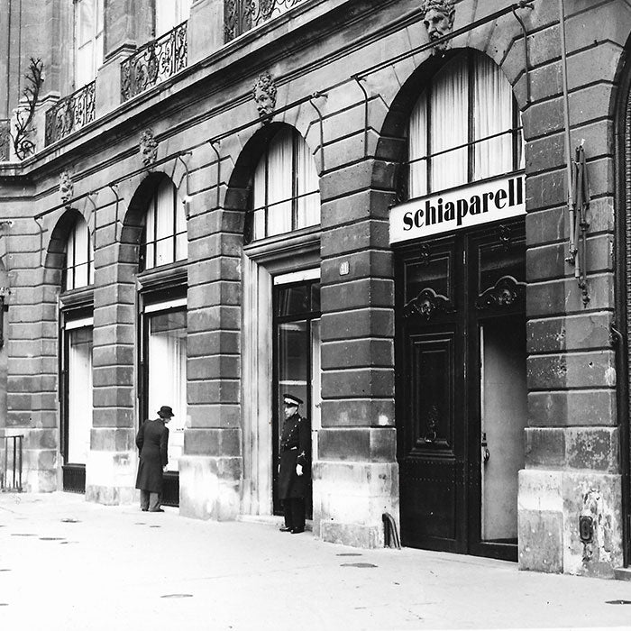 Schiaparelli - Photographie de la boutique Place Vendôme à Paris (circa 1939-1945)