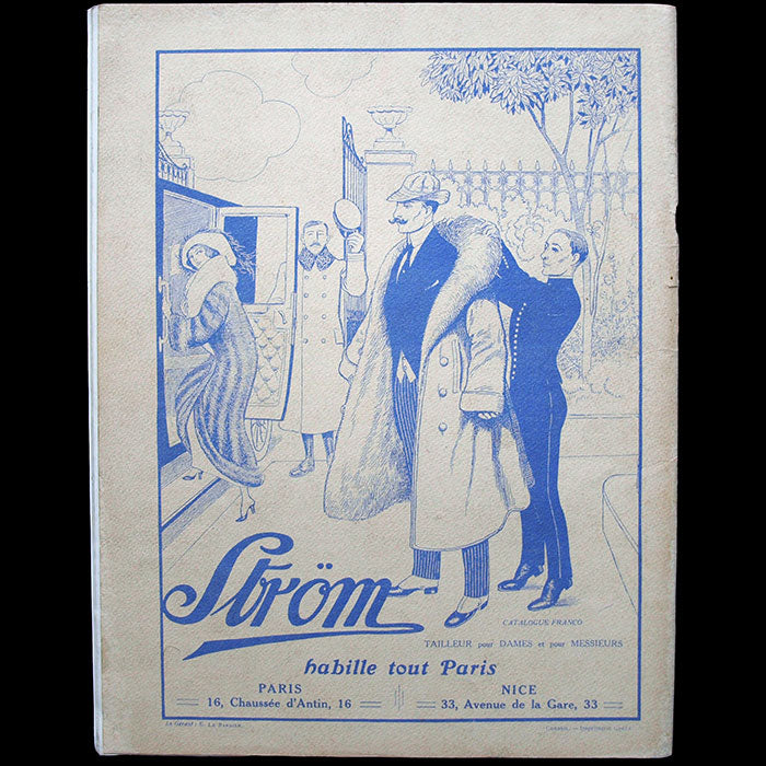 Tout-Paris, magazine illustré mondain, n°2 (25 octobre 1913)