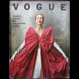 Vogue France (octobre 1951), couverture de Cecil Beaton