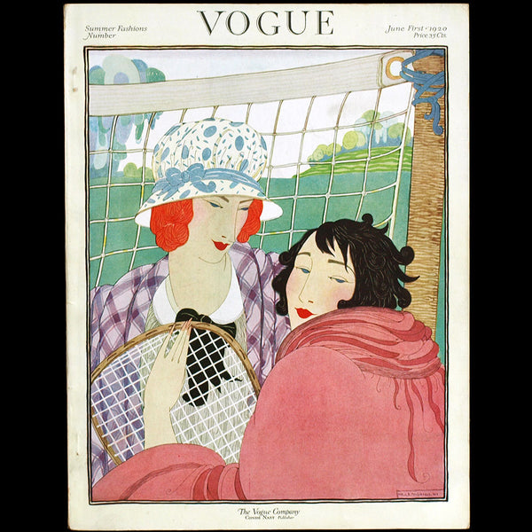 Vogue US (June 1st 1920), couverture de Helen Dryden