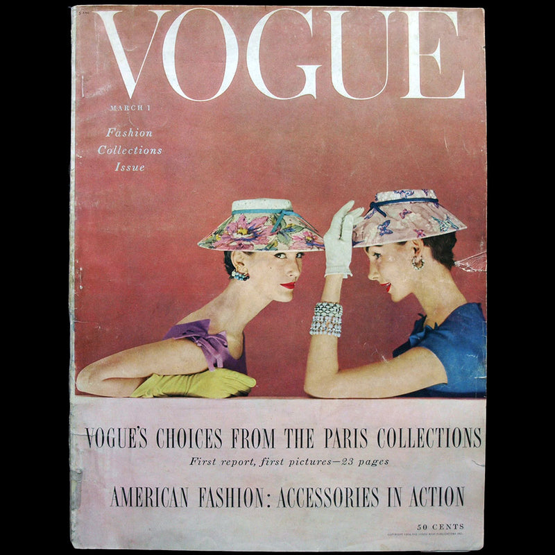 Vogue, Continental Edition, France (Late May 1918), couverture de Porter Woodruff