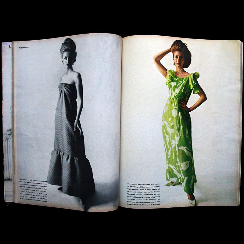 Vogue US (15th April 1964), couverture d'Irving Penn