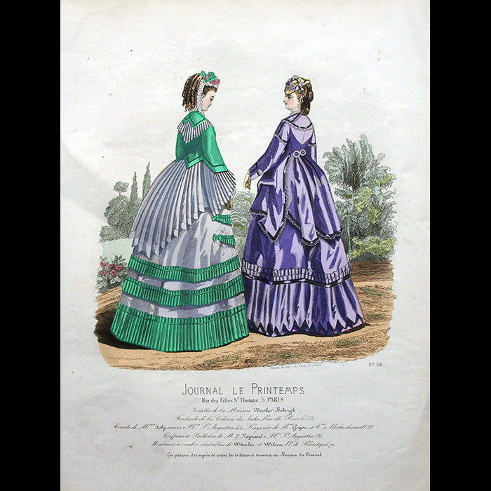 Worth & Bobergh - Le Journal du Printemps (circa 1868)