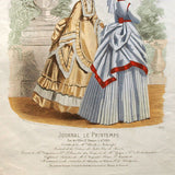 Worth & Bobergh - Le Journal Le Printemps, gravure 112 (circa 1867-1870)
