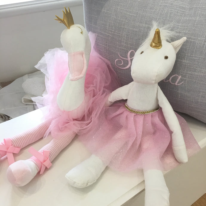 Pink Ballerina soft toy gift for kid