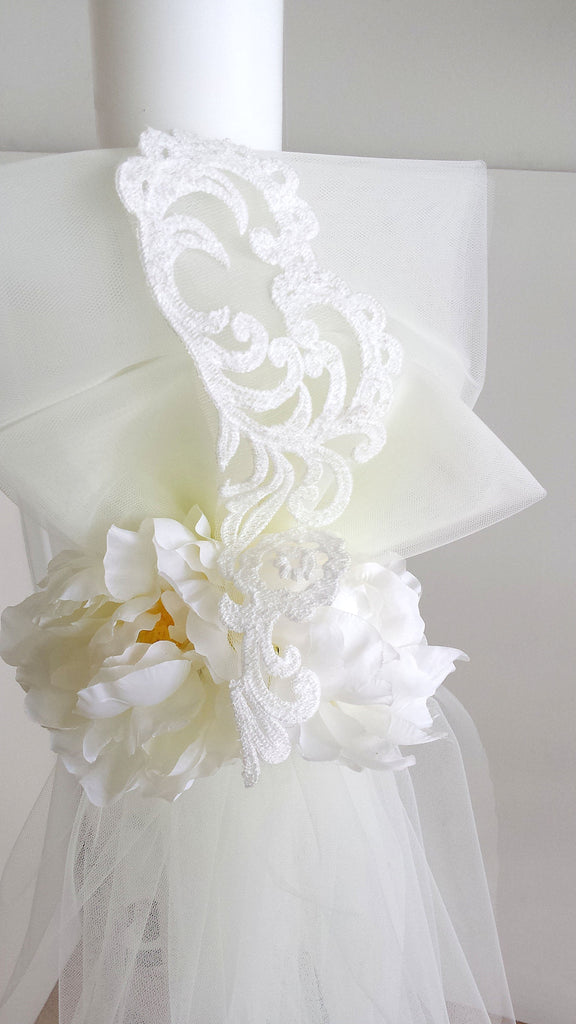 double-floral-and-lace-handmade-orthodox-wedding-candle-1