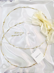 golden-cord-styling-twist-greek-wedding-crown-stefana-2