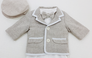 Madison Boys Christening Suit