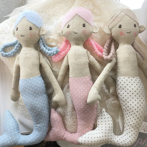 Mermaid soft toy gift for kid