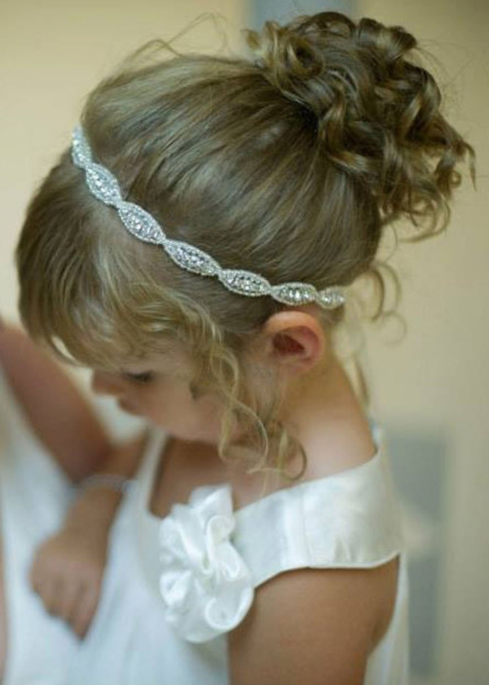 Rhinestones Ribbon Headband