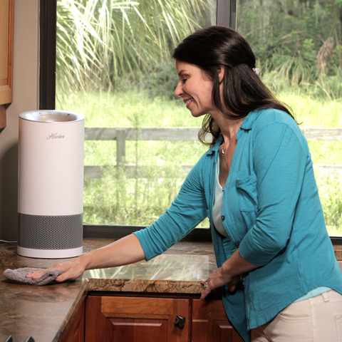 HP400 Small Round Tower Air Purifier