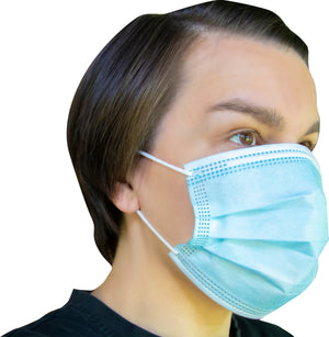 Disposable Surgical Style Ear Loop Face Mask