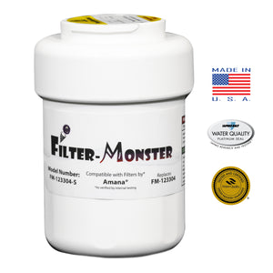 Filter-Monster Replacement for Amana Clean N' Clear 12527304, WF401 Refrigerator Water Filter, Single