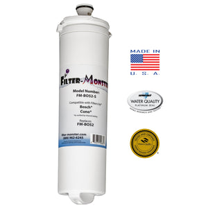 Filter-Monster Replacement for Bosch 640565, EVOLFLTR10, Whirlpool WHKF-R-PLUS Refrigerator Water Filter