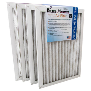 Filter-Monster HVAC Furnace Filter, 4 Pack