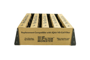 Replacement for IQAir V5-Cell Gas and Odor Filter
