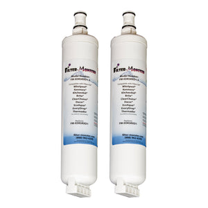 Filter-Monster Replacement for Whirlpool EDR5RXD1 Refrigerator Water Filter FM-EDR5RXD1, Two Pack