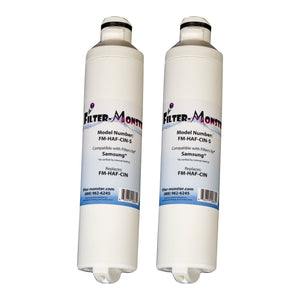 Filter-Monster Replacement for Samsung DA29-00020B Refrigerator Water Filter FM-HAF-CIN, Two Pack