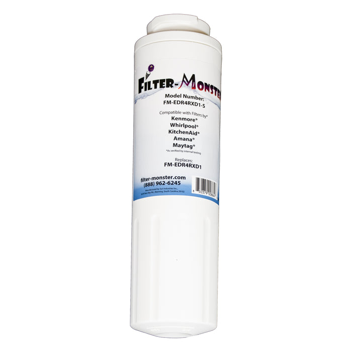 Filter-Monster Replacement for Whirlpool EDR4RXD1 Refrigerator Water Filter